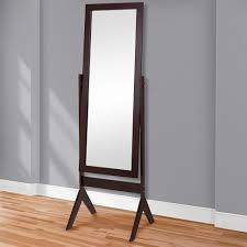 silver floor mirror. Kitchen:Emerson Floor Mirror Jewelry Armoire Ikea Silver Standing Plans Mirrors For Bedrooms Amazon Com