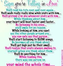 Signs Of Falling In Love Quotes Signs Of Falling In Love Quotes Amusing Signs That You're Falling In 52