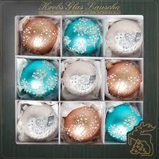 Krebs Glas Lauscha Weihnachtsbaumkugel Winter Dream 9 Stück Mundgeblasen Online Kaufen Otto