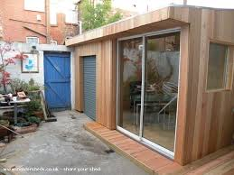 outside office shed. small garden office shed one grand designs from liverpool uk outside