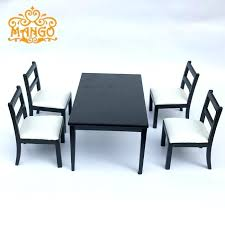 dollhouse dining room furniture. Dollhouse Dining Room Furniture 1 Set Black And White Chairs .