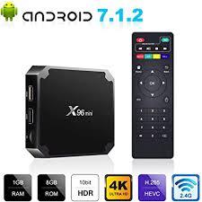 <b>X96MINI</b> Amlogic S905W <b>Android 7.1.2</b> Quad Core Smart TV BOX ...