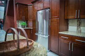 cherry shaker kitchen cabinets. The Cherry Shaker Kitchen Cabinets Also Come With 6 Way Adjustable Hinges. Full Overlay Style Doors And Rich Stain Color
