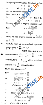 quadratic equations ncert solutions class 10 maths saq 3 marks 01
