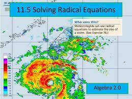 ppt 11 5 solving radical equations