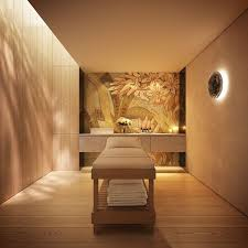 private and warming massage room spa
