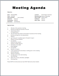 agenda template for word 20 meeting agenda templates word excel pdf formats