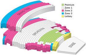Seating Chart Hamilton Hamilton Wharton Center For Performing Arts