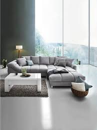 Wohnlandschaft In Textil Grau In 2019 Wohnen Couch Grau