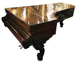 Steinway Concert Grand Piano with Rosewood and Ebonized Case For