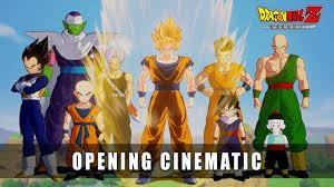 <b>DRAGON BALL Z</b>: KAKAROT – Opening Cinematic