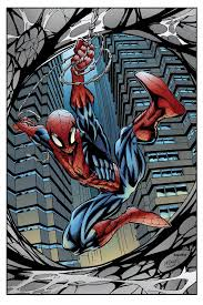 A limited series in which peter is reminiscing events and encounters from his past and how he and gwen stacy fell in love. Spider Man Color By Lazerbat On Deviantart