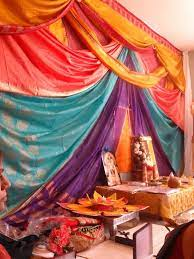 These 10 ideas are sure to inspire. Saree Decorations Backdrop Engagement Ceremony Indian Decorations Sari Colourful Living Room Colourful Living Room Decor Living Room Decor Colors