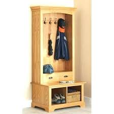 Coat Rack With Storage Baskets Amazing Hall Tree Storage Bench With Baskets Coat Tree With Storage Bench