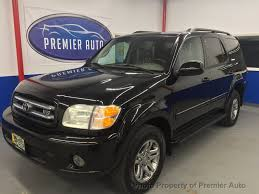 2004 Used Toyota Sequoia 4dr Limited 4WD at Premier Auto Serving ...