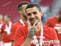 Romanian footballer Nicolae Stanciu of SK Slavia Prague, team from Czech  Republic, Stock Photo, Picture And Rights Managed Image. Pic.  CKP-P201907060531201