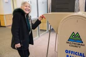 Veterans, Girl Scouts and more turnout on Election Tuesday | Multnomah  County