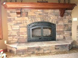 stone fireplace mantels mantel stacked ideas cast canada