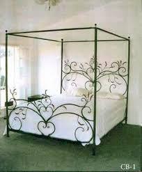 WROUGHT IRON CANOPY BEDS | RAINWEAR