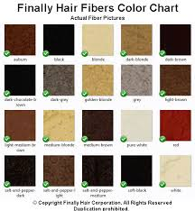 Finally Hair Color Chart Brown Black Blonde Auburn Grey