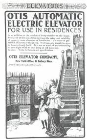 first electric elevator. first electric elevator e