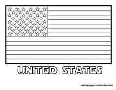 Small Picture USA flag coloring pages Free Large Images Coloring Pages