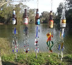 beer bottle chimes