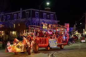 Lighted Tractor Parade Lighted Tractor Parade Manchester Vermont