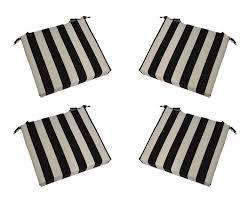 top 10 best adirondack chair cushions best striped adirondack cushion black and white stripe square universal seat cushions