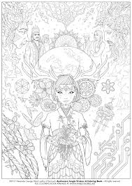 New Bonus Downloadable Coloring Page For Ayahuasca Jungle Visions