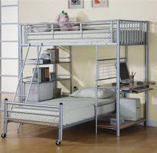 Metal Loft Bunk Bed With Desk Underneath : Making Loft Bunk Bed  With Bunk  Bed