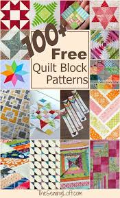 Best 25+ Quilt block patterns ideas on Pinterest | Patchwork ... & 100+ Free Quilt Blocks Adamdwight.com