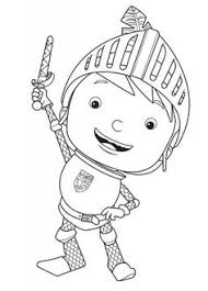 Small Picture Mike the Knight coloring pages on Coloring Bookinfo Birthday