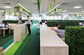 office planter boxes. at credit suisse hedges and hanging planters bring greenery into the open workplace office planter boxes