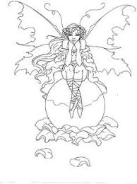 Beautiful Mystical Fairies Coloring Pages Ishagnet