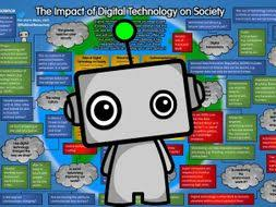 Gcse 9 1 Computer Science Poster Impact Of Digital Technology On Society