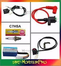 full kick start engine wiring harness 50cc 70cc 110cc 125cc dirt image is loading full kick start engine wiring harness 50cc 70cc