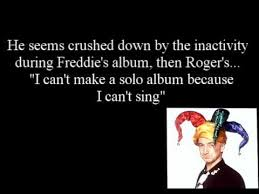Freddie Mercury Quotes 52 Stunning John DeaconBored Depressed Lonely 24 Interview YouTube