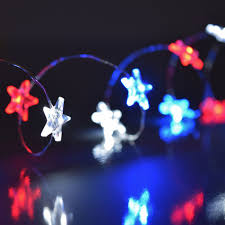 Mini String Lights Battery Operated Pin On Patriotic Lights