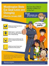 wa state car seat laws changing january