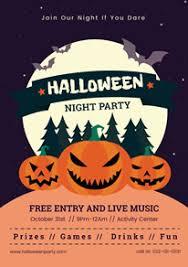 Free Halloween Poster Flyer Designs Designcap Poster Flyer Maker