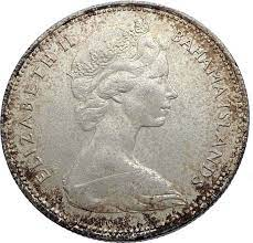 1966 BS 1966 BAHAMAS AR Coin 50 Cents UK Queen Elizabeth coin Good  Uncertified at Amazon's Collectible Coins Store