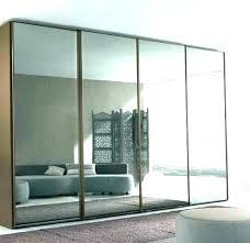 mirrored bifold doors incredible mirrored closet doors