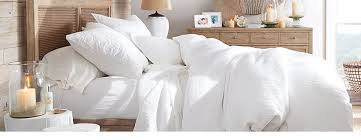 White bed sheets Full White Bedding Pottery Barn White Bedding Pottery Barn