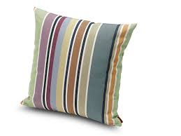 striped outdoor cushion valdemoro square cushion by missonihome