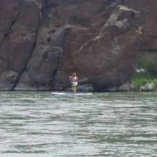 Paradise SUP - A Yellowstone paddle with Wendi Burke, very...