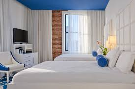 New Orleans Hotel Suites 2 Bedroom Deluxe Double Queen Rooms The Saint Hotel New Orleans