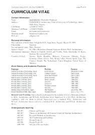 Resume Format With Example Resume Format Resume Examples General ...