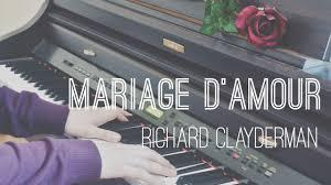 Mariage D Amour Richard Clayderman Paul De Senneville Piano