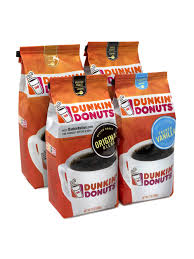 Dunkin donut coffee provides a distinctive mix of coffee with classic medium roasted beans. Dunkin Donuts Ground Coffee 12 Oz 4pk Office Depot